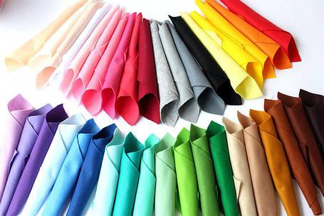 Набор корейского мягкого фетра Pugovichok Микс 38 цветов (hub_AGmZ56097), фото 2