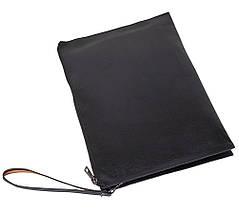 Мужская папка кожзам формат А4 DOVHANI 601-111 27х37х5см черная, фото 3