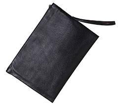 Мужская папка кожзам формат А4 DOVHANI 601-111 27х37х5см черная, фото 2