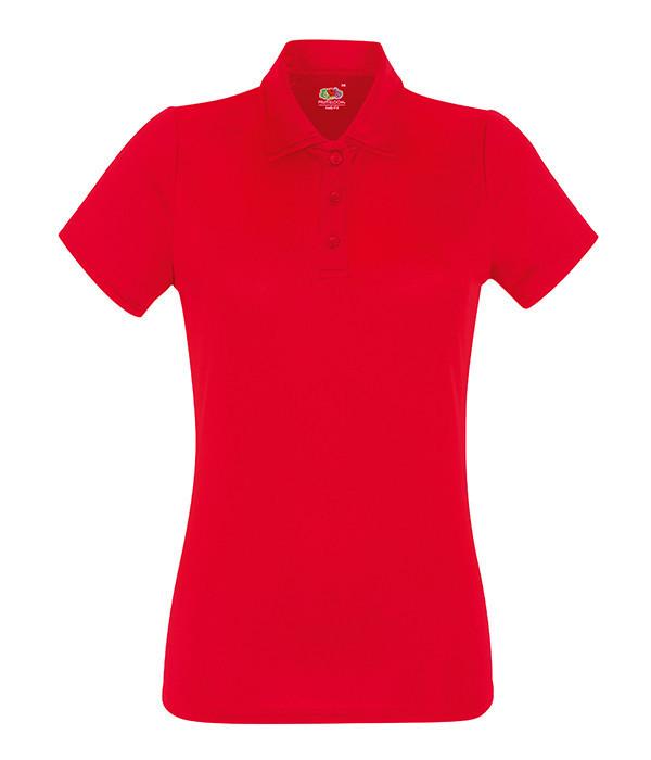 Женская спортивная тенниска поло 2XL, Красный