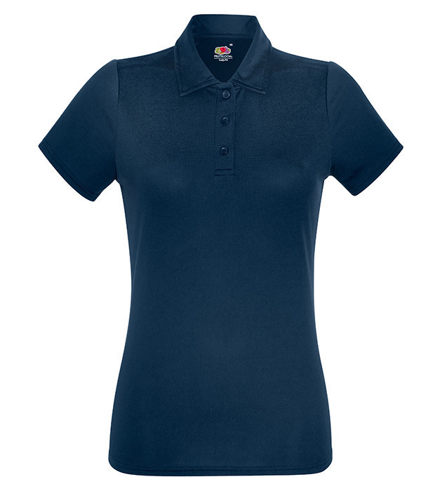 Женская спортивная тенниска поло S, Глубокий Темно-Синий