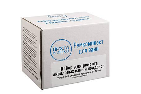 Ремкомплект для трещин акриловых ванн Просто и Легко 50 г (SUN0844), фото 2
