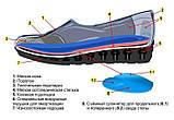 Женские ортопедические  туфли М-002 р.36-41, фото 9
