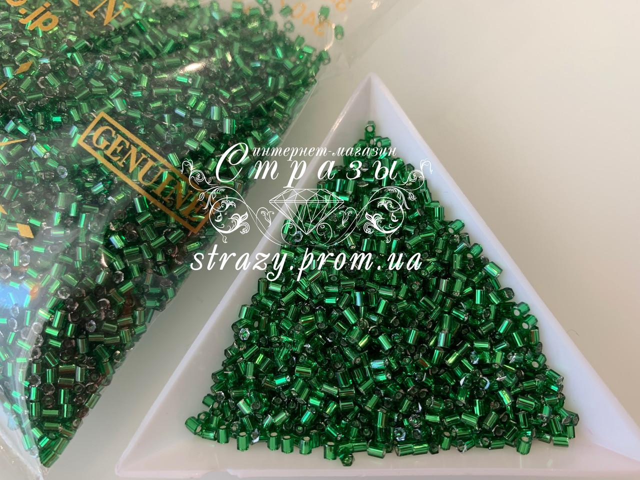 Рубка Matsuno 52 11/0 2CUT 10гр Светло зеленый, внутренний цвет серебро