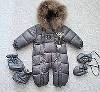 Зимний детский комбинезон philipp plein, фото 1