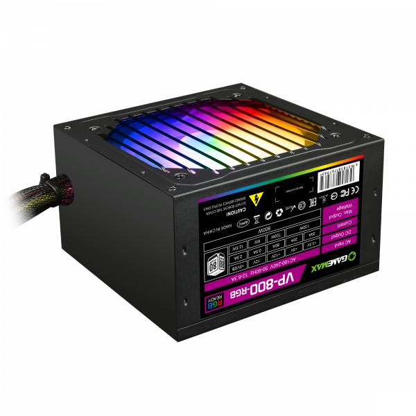 "Блок питания GameMax VP-800-RGB 800W ""Over-Stock"""