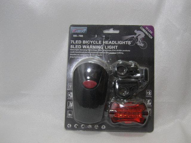 Велосипедний ліхтар кк760