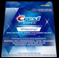 Отбеливающие полоски для зубов, Crest Whitestrips 3D Professional Effects 1Х2 шт