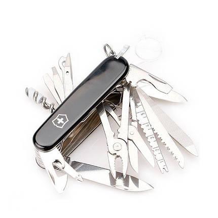 Швейцарский нож Victorinox SwissChamp Black (1.6795.3), фото 2