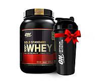 Протеин USA ORIGINAL!!! Optimum Nutrition Whey Gold Standard 907 г strawberry banana клубника банан