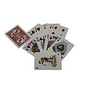 Карты игральныe атласные Duke N0977 54 листа 87x62 мм (DN30767Red)