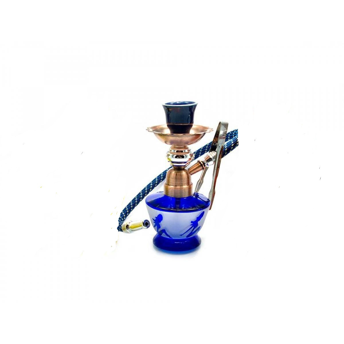 Кальян Huka 18.5 см Синий (DN23929)
