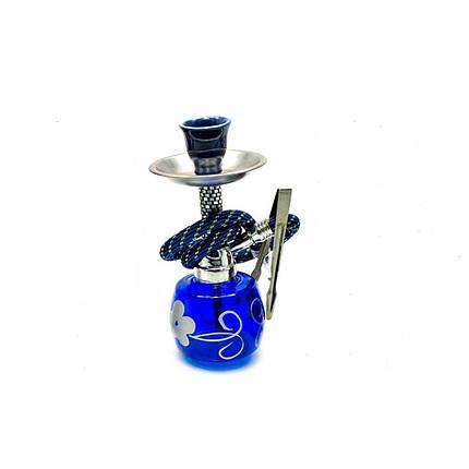 Кальян Huka 17 см Синий (DN23923), фото 2