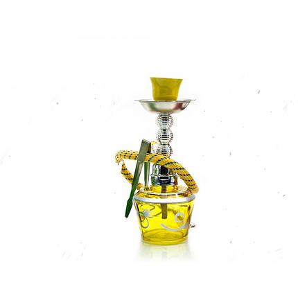 Кальян Huka 17 см Желтый (DN23878), фото 2