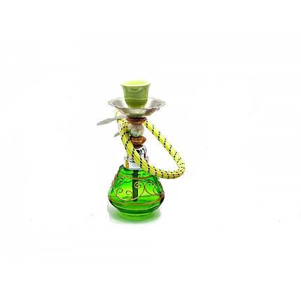 Кальян Huka 17 см Зеленый (DN23927), фото 2