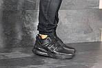 Мужские кроссовки Nike Air Force 270 (черные), фото 4
