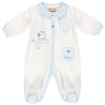 Чоловічок для дівчинки Одяг для дівчаток 0-2 BRUMS Італія 133bbfv001 молочно-блакитний