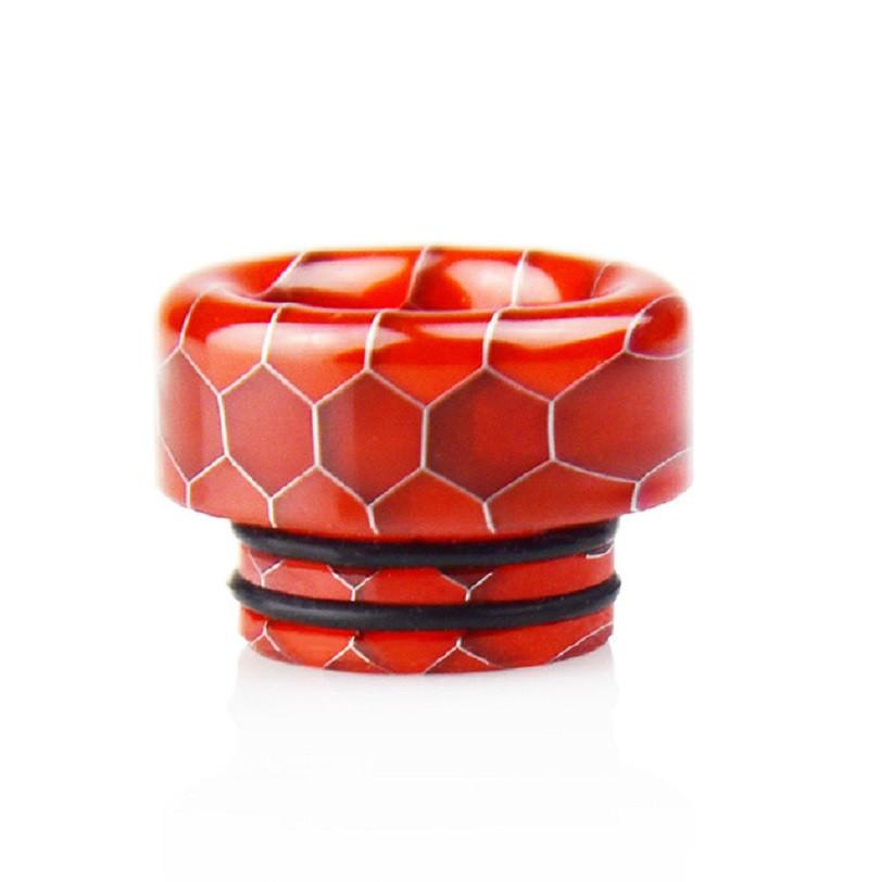 Дрип тип  Vapor Storm Wide Resin Honeycomb 810 2 O-ring Red (AJ_dr8109602)