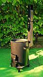 Печь для казана с трубой, фото 3