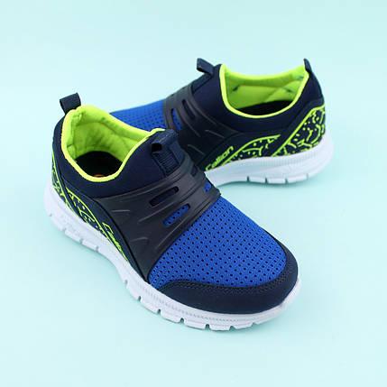 Кроссовки на мальчика синие тм Callion размер 33,35, фото 2