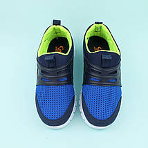 Кроссовки на мальчика синие тм Callion размер 33,35, фото 3