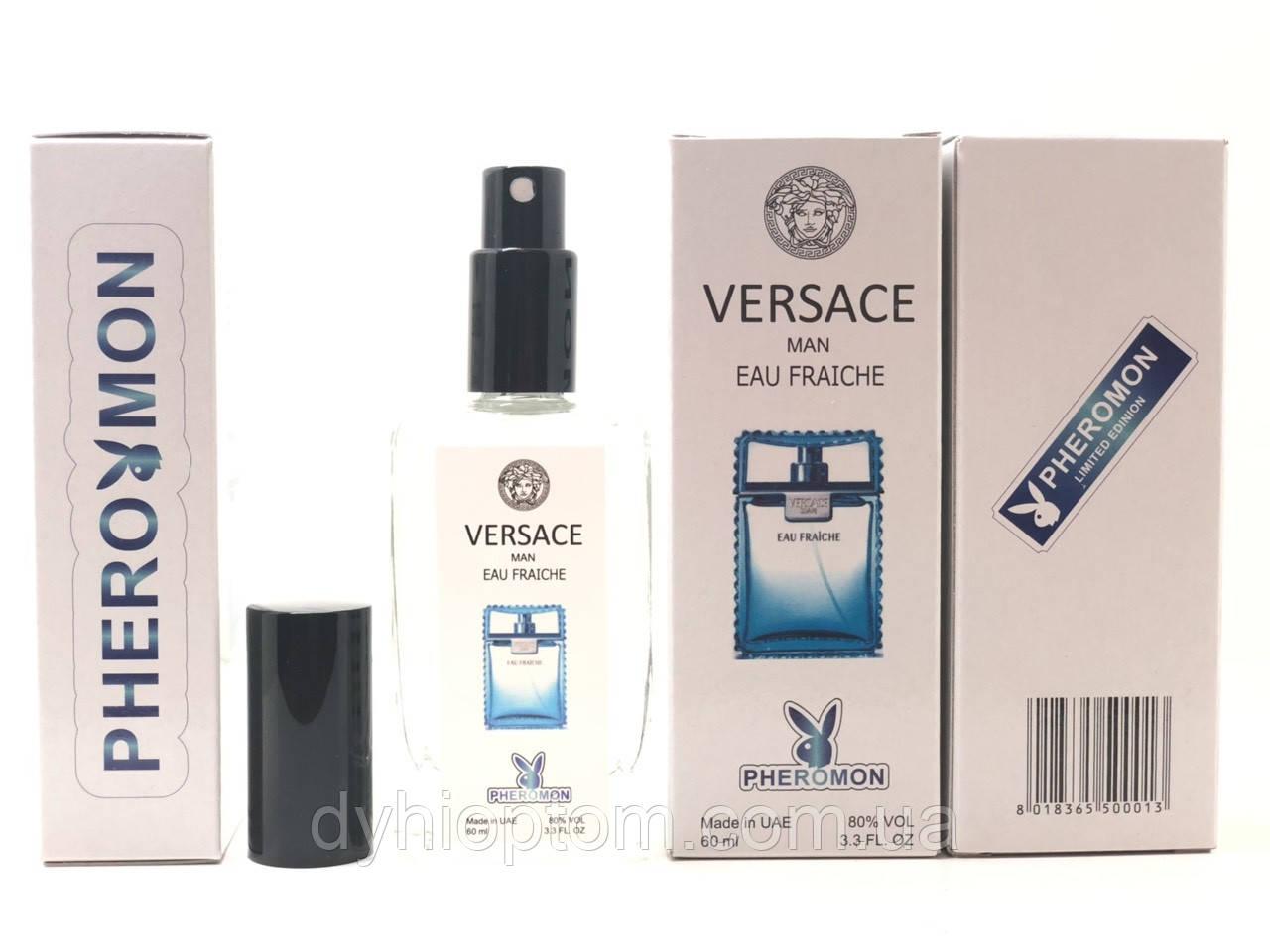 Мужской парфюм Versace Man Eau Fraiche, 60 ml