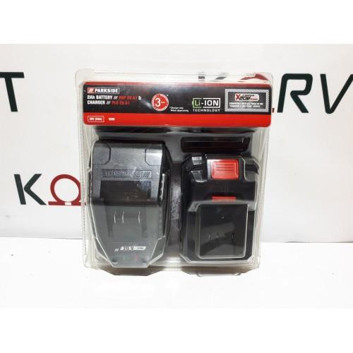 Зарядное устройство с АКБ Parkside PAP 20 A1