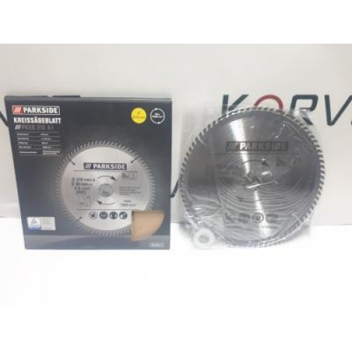 Циркулярный диск Parkside PKSB 210 мм
