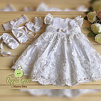 """Роскошное платье для крещения """"Ванесса"""", фото 1"""