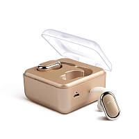 Наушники беспроводные Bluetooth Alitek D005 TWS Stereo Gold -Уценка (Предоплата)
