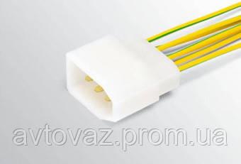 Разъем ВАЗ межжгутовой 7 контактный серии 2,8 с проводами штыревой