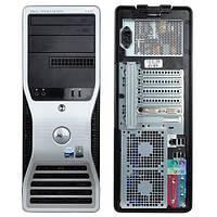 Игровой Dell precision 390 4 ядра Q6600 2.4, 6 ГБ ОЗУ, 500 Гб HDD, ATI R5 240 ( 1 ГБ)
