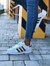 """Женские кроссовки Adidas Superstar """"White"""" (в стиле Адидас ), фото 10"""