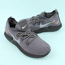 Кросівки сірі підліткові текстиль тм Violeta розмір 39, фото 2
