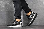 Мужские кроссовки Nike Air Max 720 (черно-серые), фото 2