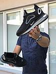 Мужские кроссовки Nike Air Max 720 (черно-серые), фото 3