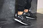 Мужские кроссовки Nike Air Max 720 (черно-серые), фото 5
