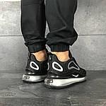 Мужские кроссовки Nike Air Max 720 (черно-серые), фото 6