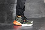 Чоловічі кросівки Nike Air Force 270 (темно-зелені), фото 4