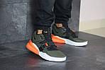 Чоловічі кросівки Nike Air Force 270 (темно-зелені), фото 5