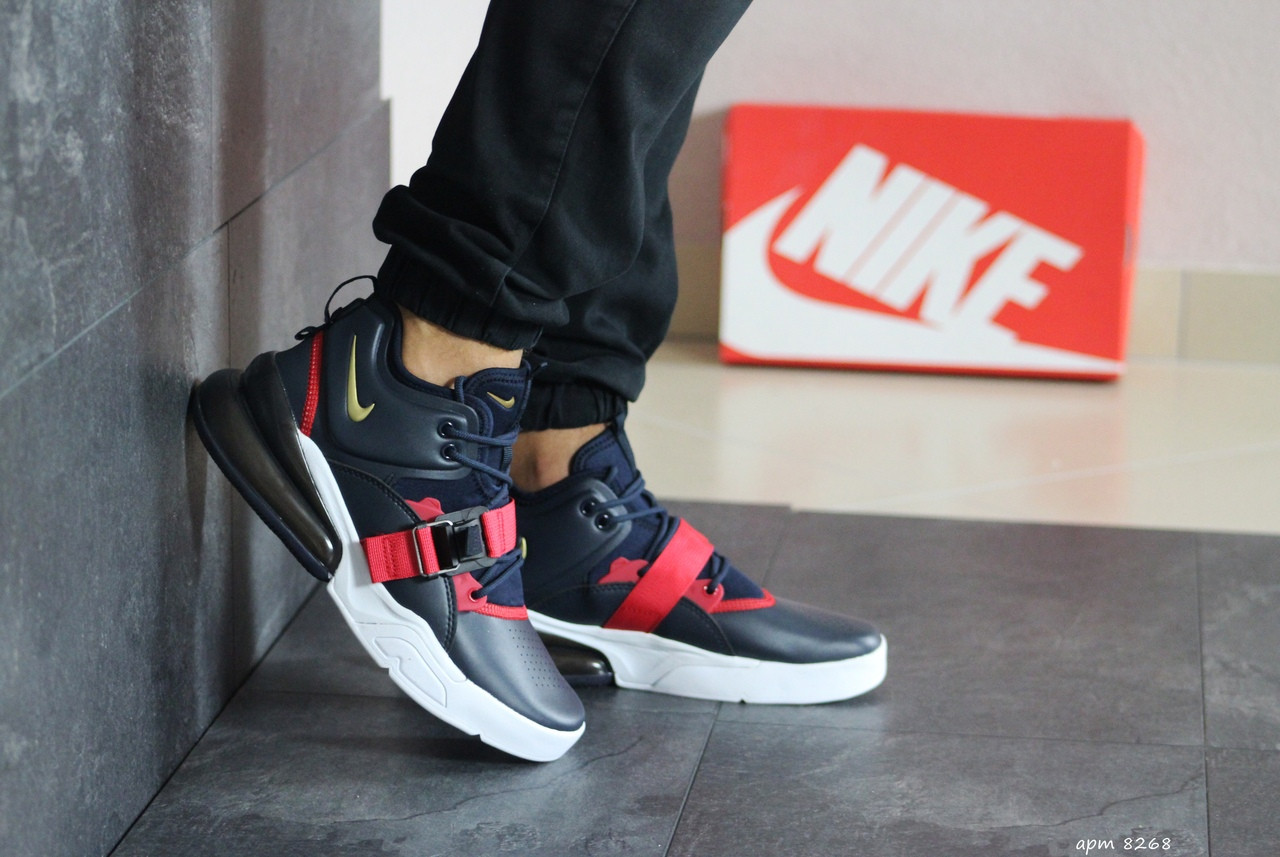 Мужские кроссовки Nike Air Force 270 (темно-синие)