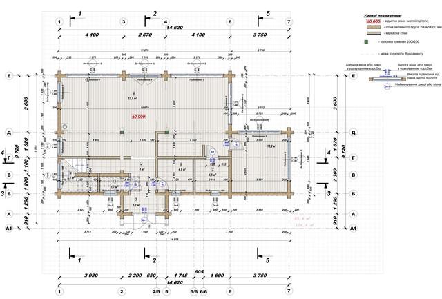 Ескізний проект будинку з бруса фото 14