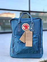 Жіночий спортивний рюкзак Kanken (синій) - Унісекс
