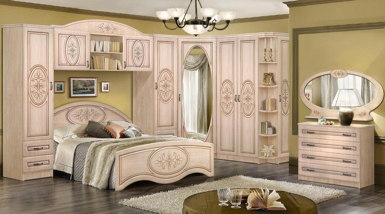 Спальня №2 Василиса (комплект) Мастер Форм