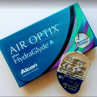 Линзы на месяц от Alcon  Air Optix plus HydraGlyde
