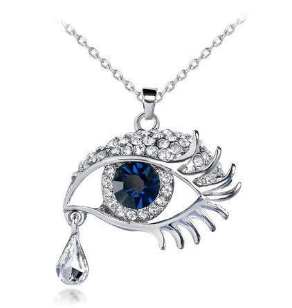 Жіночий кулон зі стразами Очей
