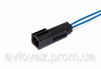 Разъем ВАЗ  датчика иммобилайзера 2 контактный черный с проводами