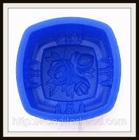 Силиконовая форма  для мыла Розы 7.3*3.8 см