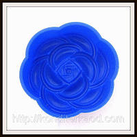 Силиконовая форма  для мыла Цветок  7.8*3 см