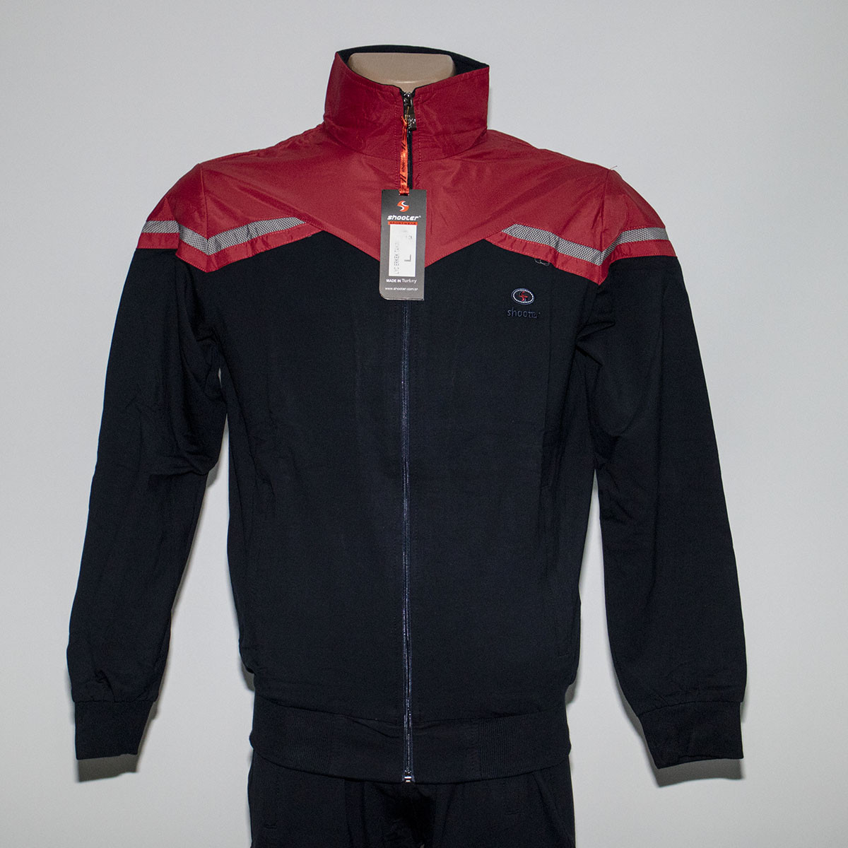 Мужской спортивный костюм двухнитка пр-во Турция т.м. SHOOTER 7313
